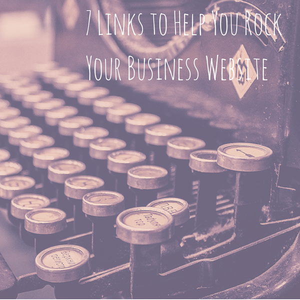 7 links to help you rock your business