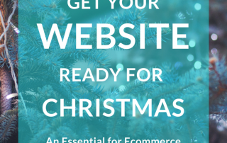 get website christmas ready|christmas copy check