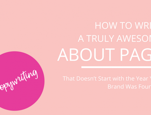 How to Write a Truly Awesome About Page
