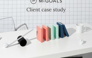 MiGOALS client case study|MiGOALS Copywriting case Study diary|MiGOALS copywriting case study