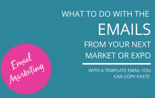Follow up email template for post-event emails|How to add a segment in MailChimp for follow up email template|Follow up email template blog post - Nell Casey Creative
