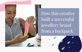 How this jewellery designer runs an ecommerce store as a digital nomad - Love Astrid