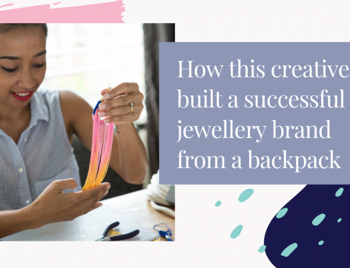 How This Creative Built a Successful Jewellery Brand From a Backpack